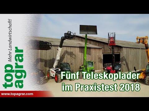 Fünf Teleskoplader im top agrar-Praxistest: Dieci, Merlo, Manito, JCB, Bobcat