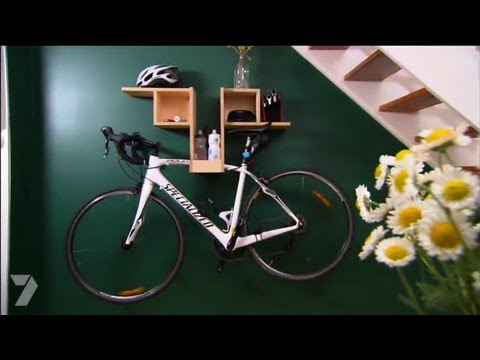 Better Homes and Gardens DIY Bike Hanging Shelf Ep 22 2806