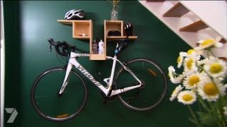 Better Homes And Gardens - Diy: Bike Hanging Shelf, Ep 22 (28.06.2013)