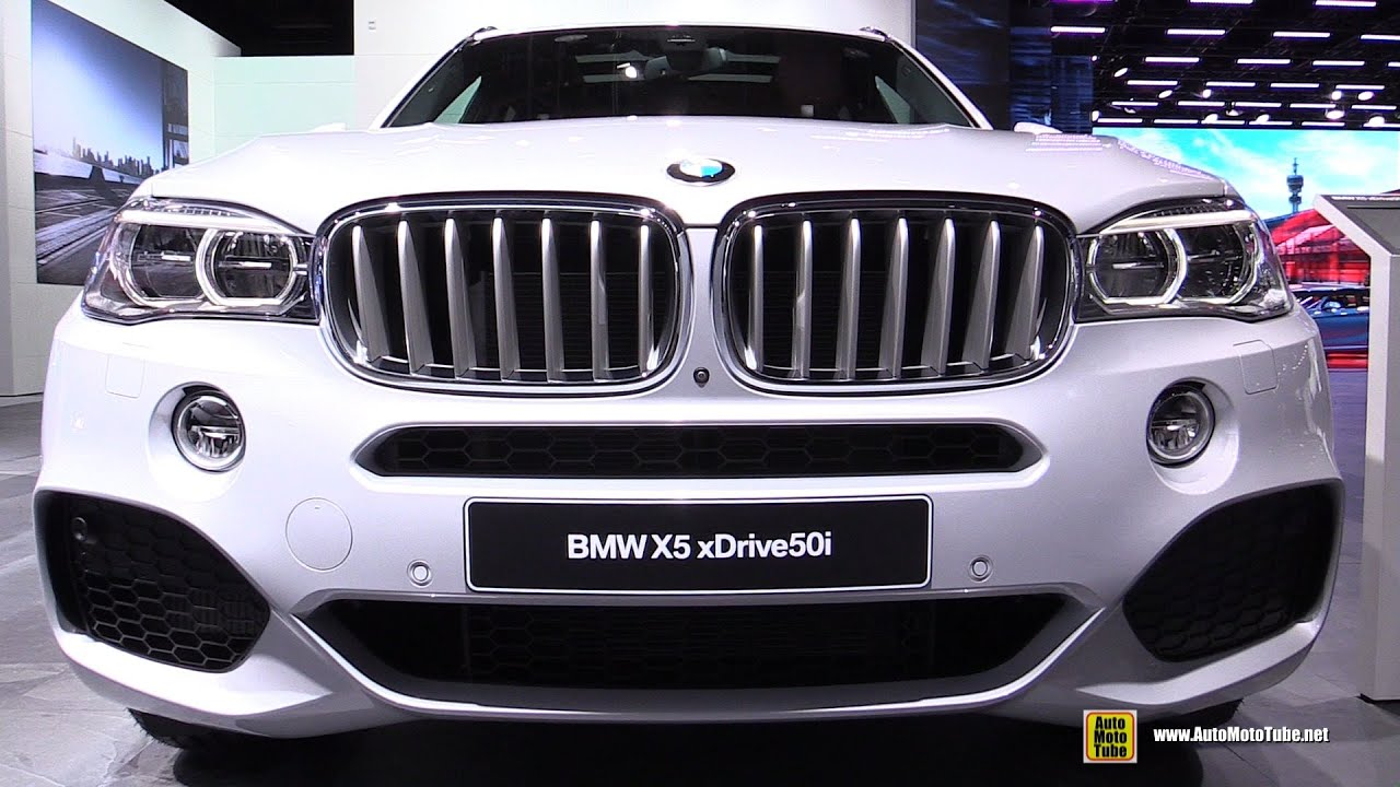 2016 Bmw X5 Xdrive 50i M Sport Exterior And Interior Walkaround Detroit Auto Show You