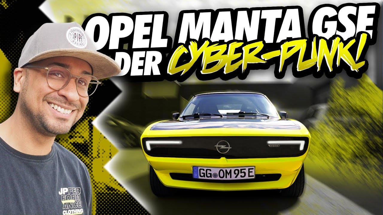 JP Performance - Der Cyber-Punk! | Opel Manta GSE E-Mod