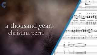 Euphonium - A Thousand Years - Christina Perri - Sheet Music, Chords, & Vocals