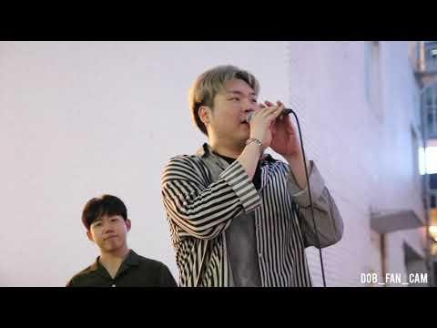 [DOB_디오비] 190717 홍대공연  / 멤버 자기소개