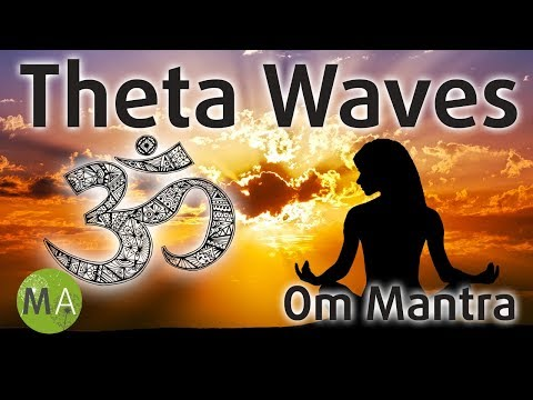 Om Mantra - 5Hz Theta Waves Meditation with Isochronic Tones