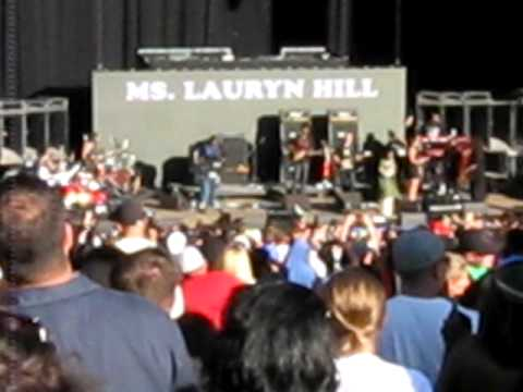 Ms. Lauryn Hill - Ready or Not - Rock the Bells 2010 San Francisco, CA