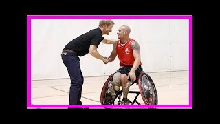 Breaking News | Prince harry meets teams in canada for the invictus games
