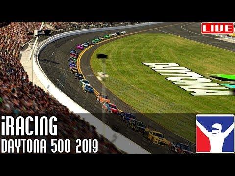 #Daytona500 2019 || iRacing || LIVE