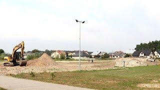Budowa boiska z trawiast± nawierzchni± w £ysych