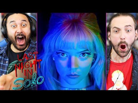 LAST NIGHT IN SOHO TRAILER REACTION!! (Teaser   Edgar Wright   Anya Taylor-Joy   Matt Smith)