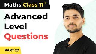 Maths Class 11  Advanced Level Questions P27  Basic of Higher Maths   n Hindi  Magnet Brains
