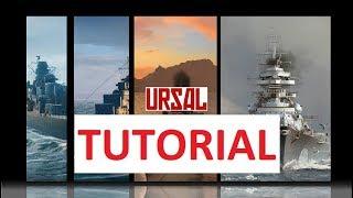 [URSAL] TUTORIAL - Baixando e aplicando MODs no WoWs