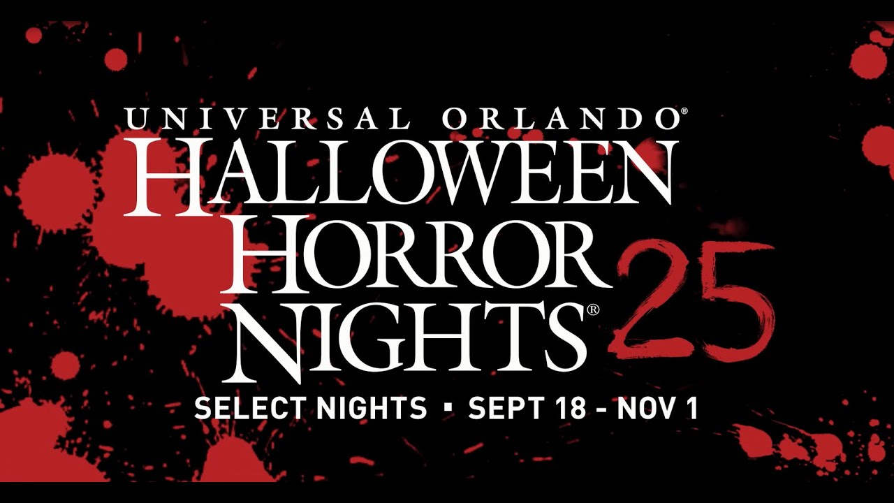 halloween horror nights 25 youtube - Halloween In Orlando Fl