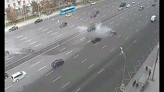 Putin's car accident, driver dead [Reporter]