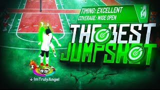 BEST NEW JUMPSHOT NBA 2K19! QUICK RELEASE NO LIGHTLY CONTESTED SHOTS! 100% GREENLIGHTS ON NBA 2K19!
