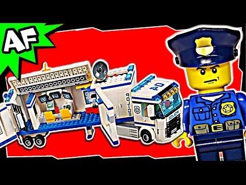 Lego City MOBILE POLICE UNIT 60044 Stop Motion Build Review