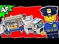 Lego City MOBILE POLICE UNIT 60044 Stop Motion Build Review