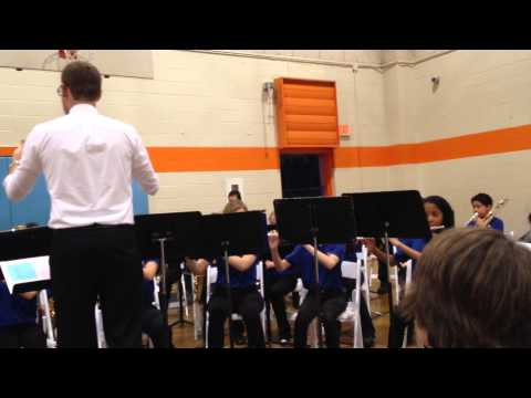 James Island Middle School Band Concert