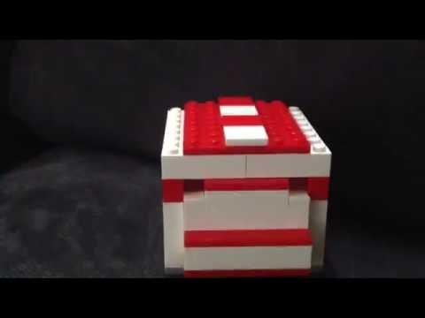 Lego storage/secret money bank