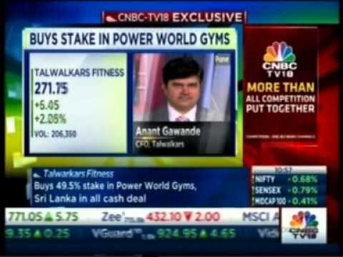 Talwalkars Better Value Fitness Limited partners with Sri Lanka's Power World Gyms Limited