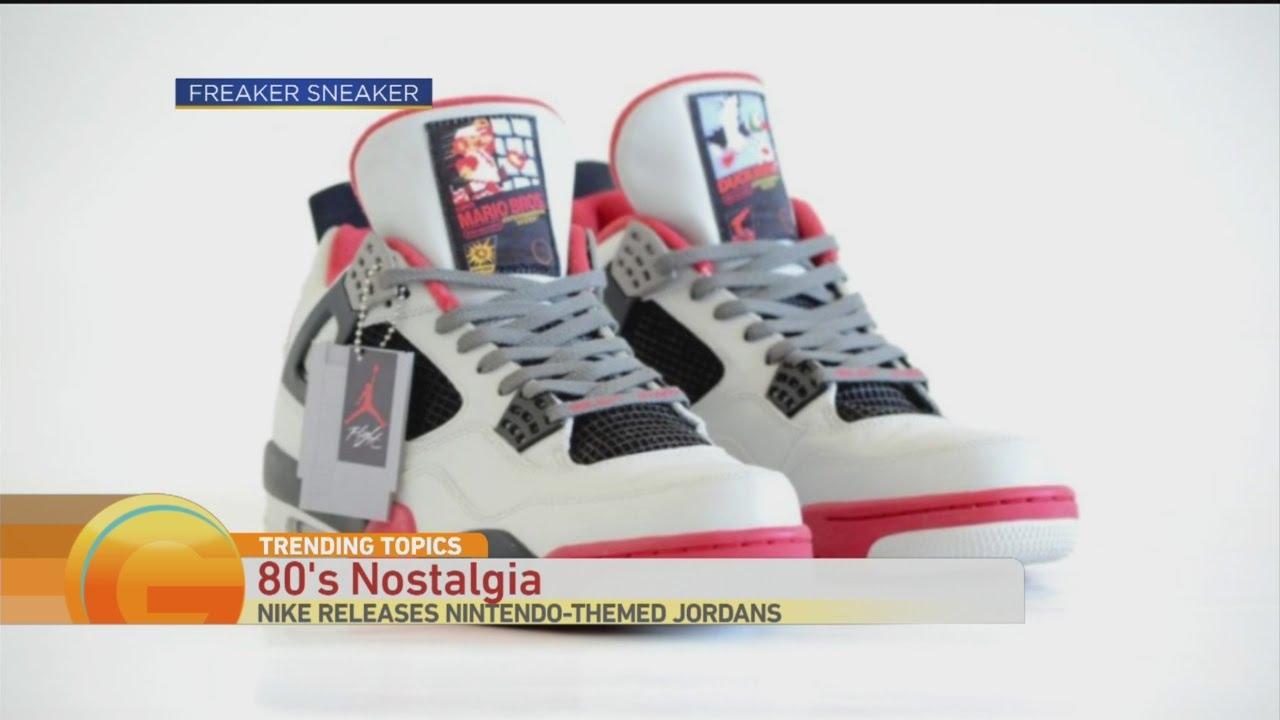 Trending Topics: Nintendo Themed Jordans