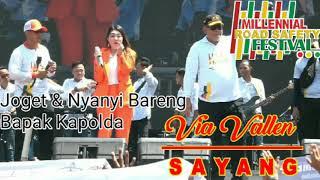 Via Vallen - Sayang Live Suramadu (Millennial Road Safety Festival)