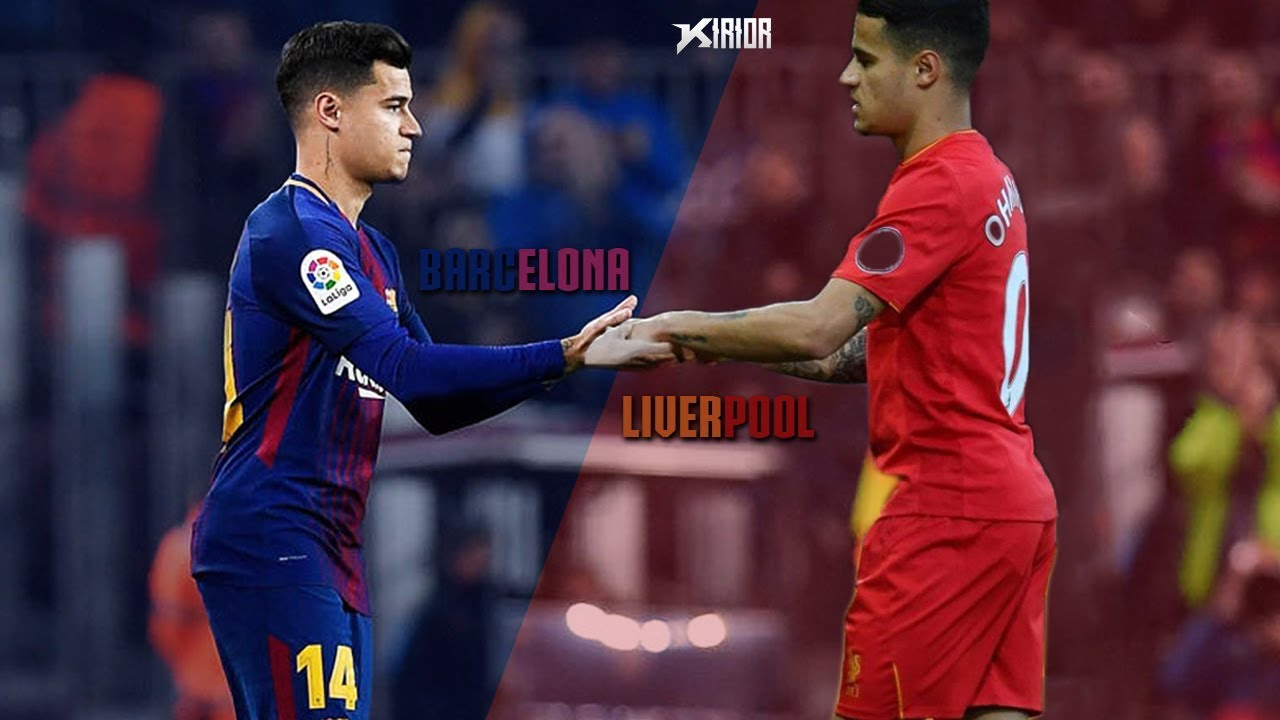 8c3ca45d82a Philippe Coutinho 2018 - in Liverpool vs in Barcelona 2018 - Skills ...