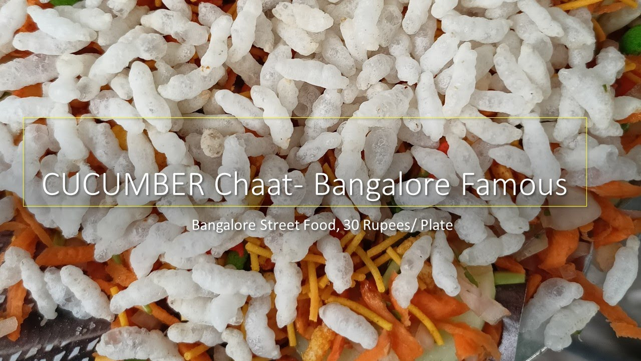 Kheera Chaat- 30 Rupees Namma Bangalore Street food Special- Hunger Killer #Shorts