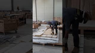 에코하우스 패시브 하우스 단열재 시공후 OSB합판 (문…