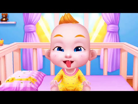 Play With Cute Baby Boss - Fun Bathtime, Dress up, Visit Doctor - Baby Care Games For Family & Kids