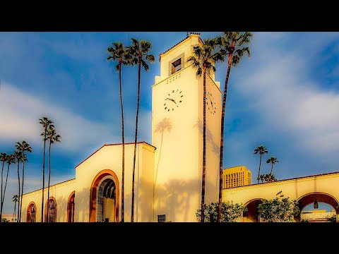 A Walk Around Union Station, Los Angeles