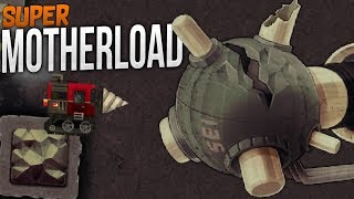 Super Motherload | Saving Gamma Station | Super Motherload Gameplay Part 4