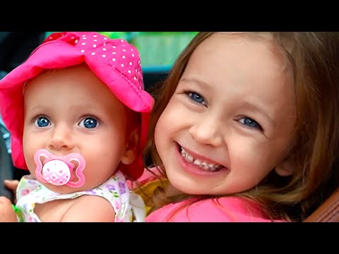 We Are In The Car Song & Wheels On The Bus Song | Songs From Maya And Mary