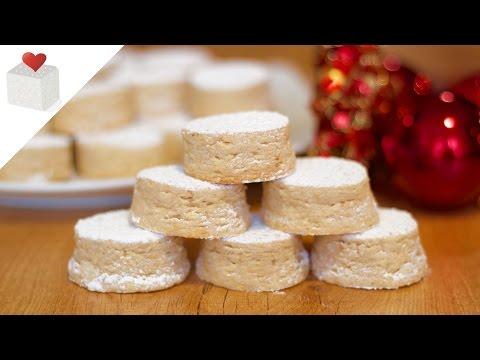 Mantecados de Almendra | Recetas Navideñas por Azúcar con Amor