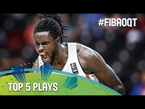 Top 5 Plays - Day 3 - 2016 FIBA Olympic Qualifying Tournament - Manila