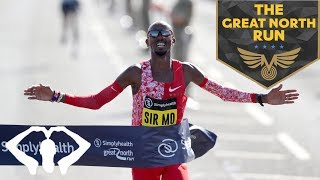 THE GREAT NORTH RUN PRE-RACE | MO FARAH