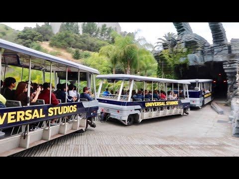 Universal Studios Hollywood Backlot Tour - Jaws / King Kong / Earthquake / Fast & Furious