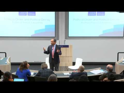 Public Lecture: Political Order And Political Decay