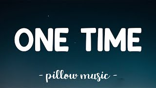 One Time - Justin Bieber (Lyrics) 🎵