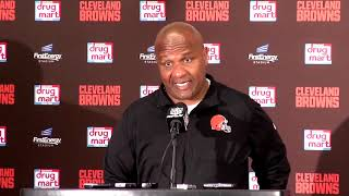 Browns head coach Hue Jackson recaps Week 6 loss to Chargers