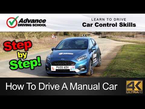 How To Drive A Manual Car (Step-by-step)  |  Learn to drive: Car control skills