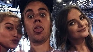 Justin Bieber & Hailey Baldwin kissing, walking & with fans in Brooklyn, New York - July 26 2018