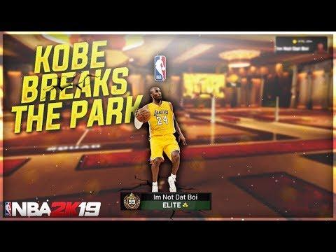 DEMIGOD KOBE BRYANT SHUTS DOWN The NEIGHBORHOOD - NBA2K19