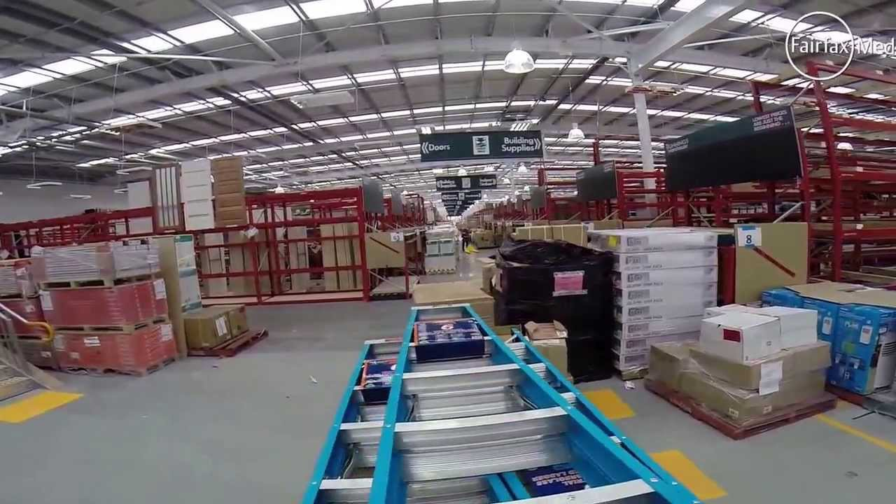 bunnings warehouse pre-opening store tour
