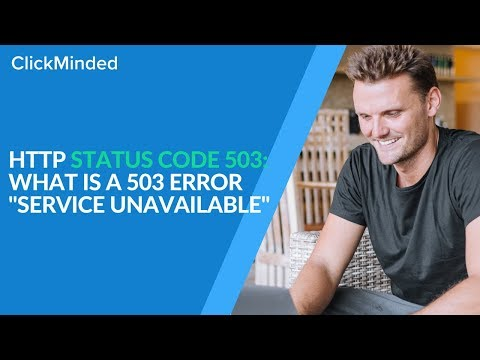 HTTP Status Code 503: What Is A 503 Error