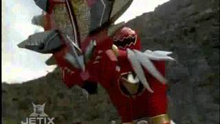 Power Rangers Dino Thunder - Dino Thunder and Ninja Storm Teamup Weapons