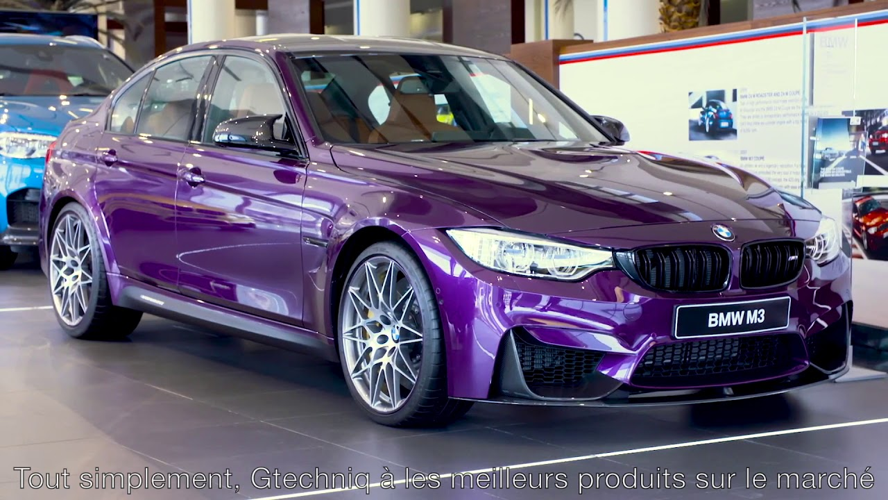Gtechniq Platinum protection céramique BMW Abu Dahbi