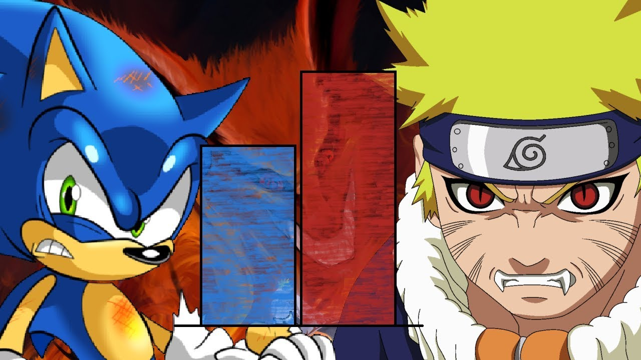 Dbzmacky Naruto Vs Sonic Power Levels Over The Years Youtube