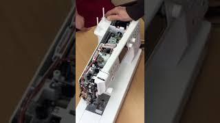швейная машина, оверлок Elna eXcellence 730 ремонт