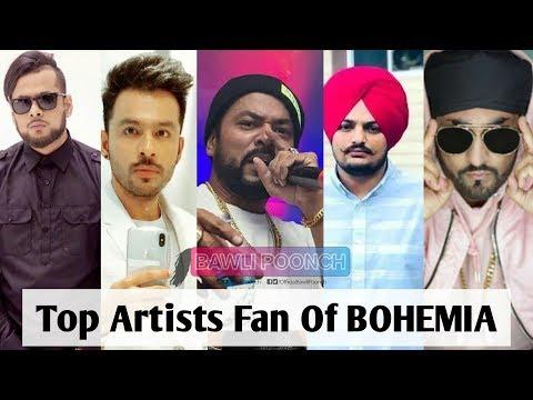 Top Artist Fans Of Bohemia Part 7