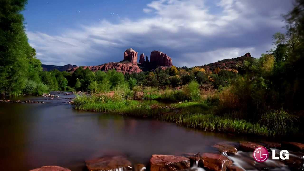 LG ULTRA HD (4K resolution) Landscape demo - YouTube